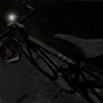 スポーツバイク 夜間走行