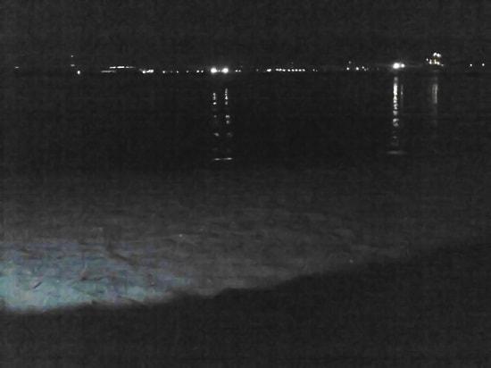 亀崎港 砂浜